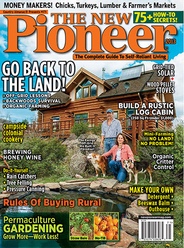 Ewings on cover of The New Pioneer magazine